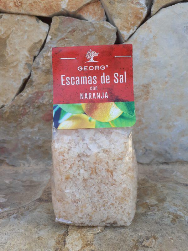 Escamas de Sal – Naranja Salze und Gewürze