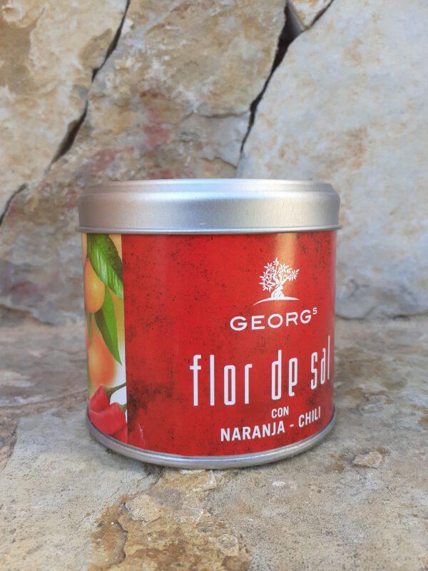 Flor de Sal Naranja Chili 200g Salze und Gewürze