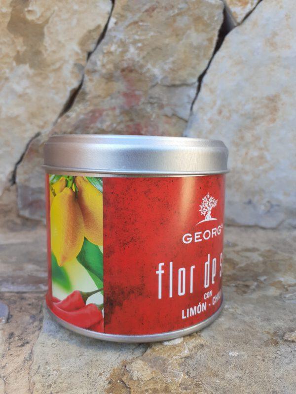 Flor de Sal Limon Chili 200g Salze und Gewürze