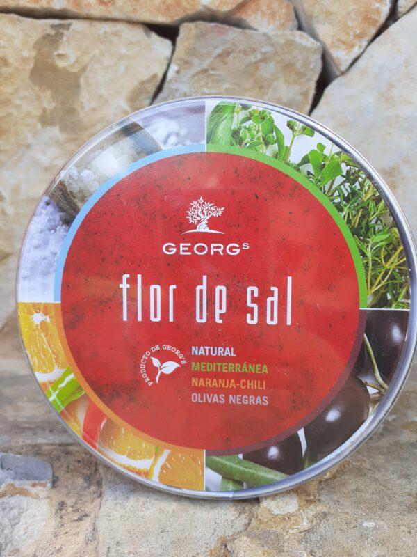Flor de Sal 4er Box Salze und Gewürze
