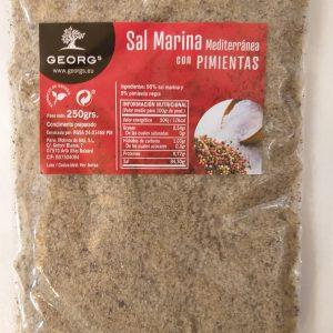 Sal Marina con Pimienta Salze und Gewürze