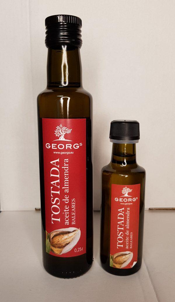 Georgs geröstetes Mandelöl Mallorca-Öle