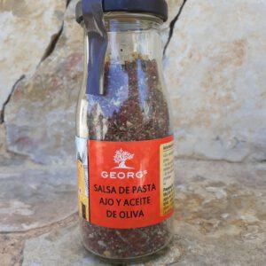 Georgs Salsa de Pasta Ajo y Aceite de Oliva (Glas) (MHD Aktion) Angebotsartikel