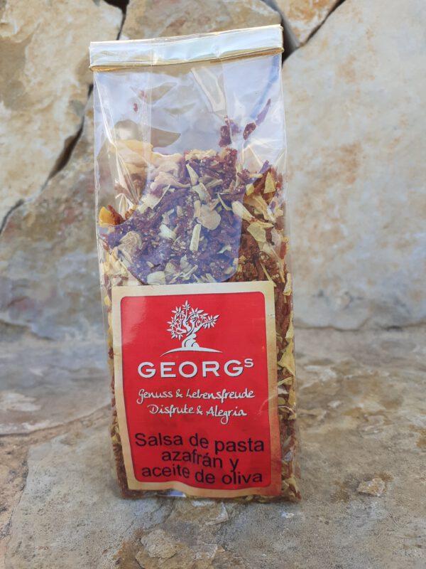Georgs Salsa de Pasta Azafran y Aceite de Oliva (Tüte) (MHD Aktion) Angebotsartikel
