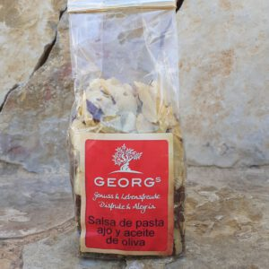 Georgs Salsa de Pasta Ajo y Aceite de Oliva (Tüte) (MHD Aktion) Angebotsartikel