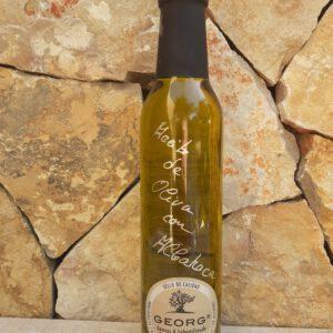 Basilikum auf Olivenöl Öle