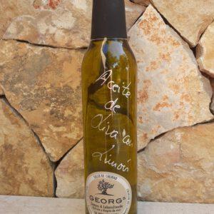 Zitrone auf Olivenöl Öle