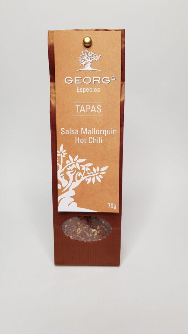 Georgs Dip Salsa Mallorquin Hot Chili (Papiertüte) Dips/Gewürzmischungen