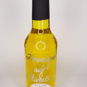 Zitronengras auf Olivenöl Öle