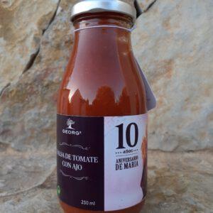 Georgs Salsa de Tomate con Ajo (Knoblauch) 10 Años Edition
