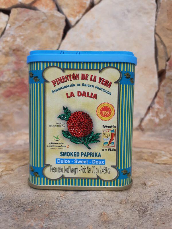 Geräuchertes Paprikapulver (süß) Salze und Gewürze