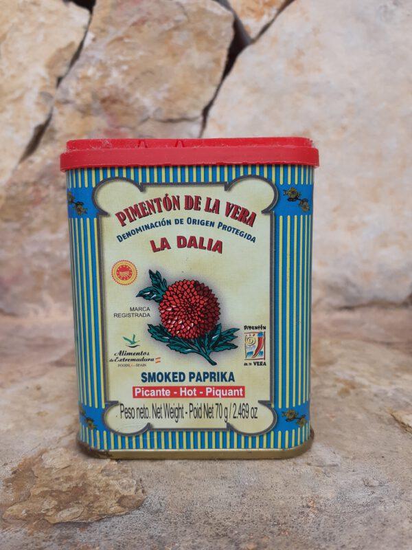 Geräuchertes Paprikapulver (pikant) Salze und Gewürze